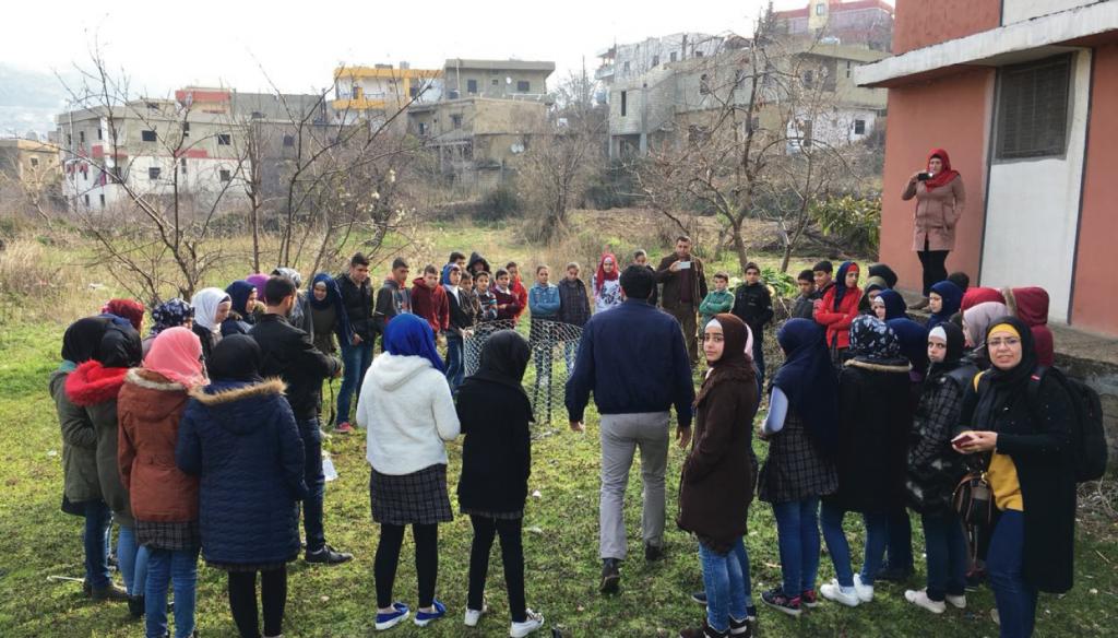 Raising awareness on waste sorting in Fneideq