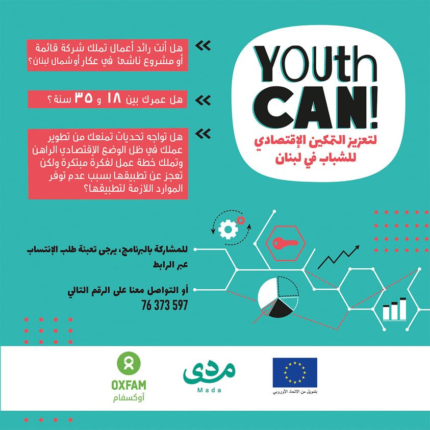 YOUth CAN! Promoting Youth Economic Empowerment in Lebanon